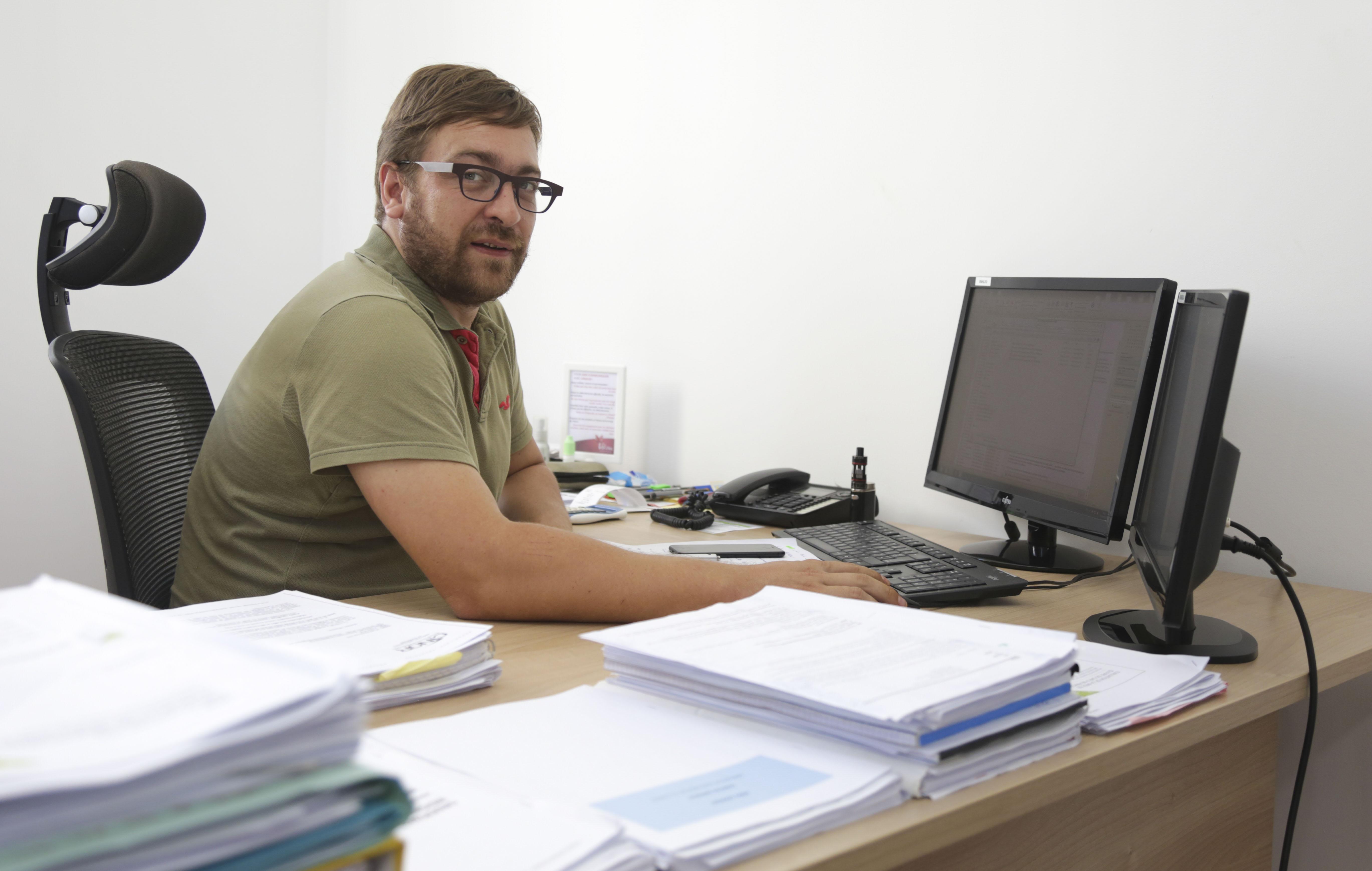 Arnaud Ritter, Responsable du Pôle Habitat et Référent des Finances de l'AGORAH ©Région Réunion