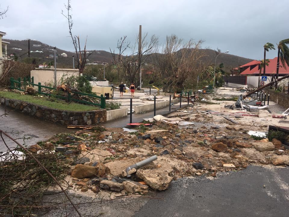 Ouragan Irma: plus de production d'eau potable à Saint-Barthélemy