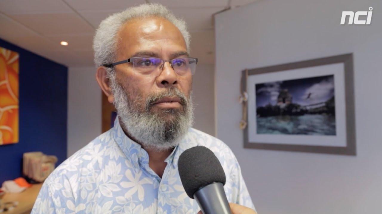 Seul candidat dans sa circonscription et bénéficiant d'un capital sympathie du côté des grands électeurs Kanak et indépendantistes, Gérard Poadja pourrait remporter le scrutin sénatorial dans la 2ème circonscription ©NCI