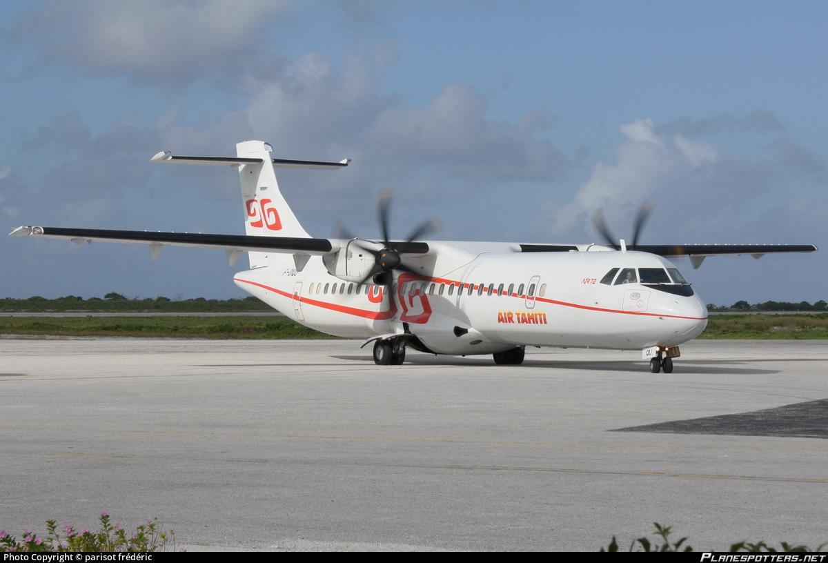 La compagnie Air Tahiti est pour l'heure la seule compagnie domestique de Polynésie ©Frédéric Parisot