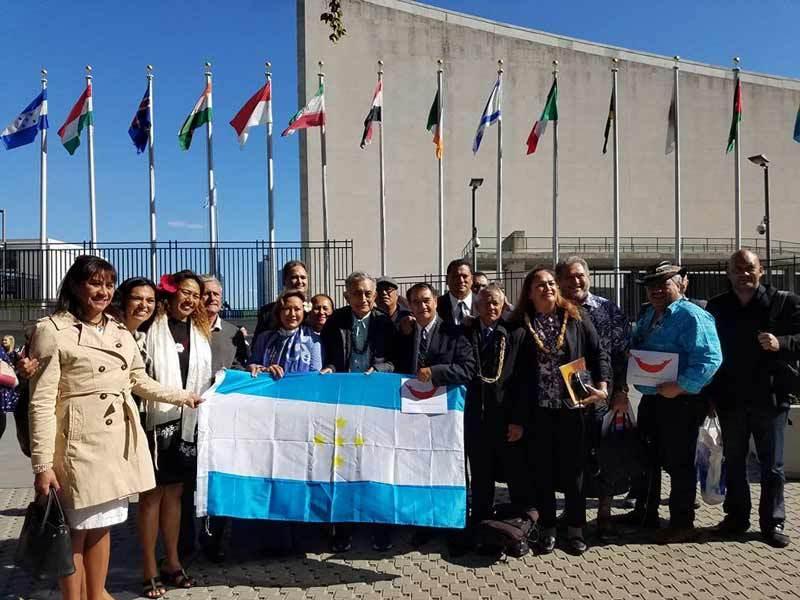 La délégation des 15 élus indépendantistes ©Facebook / Mateata Materouru