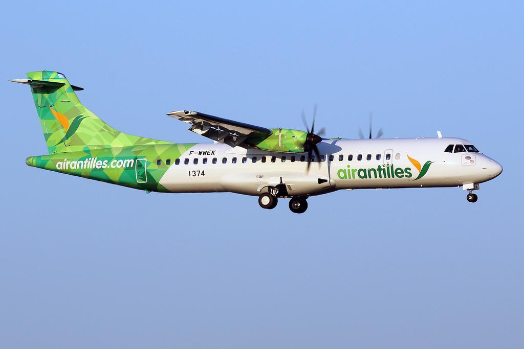 Covid-19- Guadeloupe: Air Antilles réquisitionnée pour des vols vers Marie-Galante