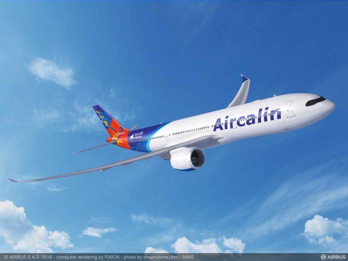 Desserte aérienne : AirCalin officialise l'achat de ses quatre nouveaux Airbus