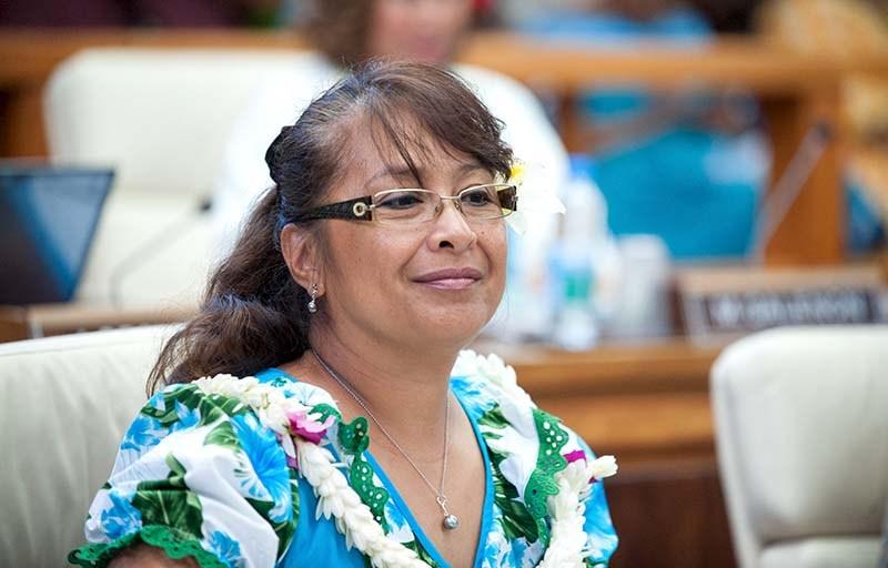 Chantal Tahiata ©Cédric Valax / Radio 1 Tahiti