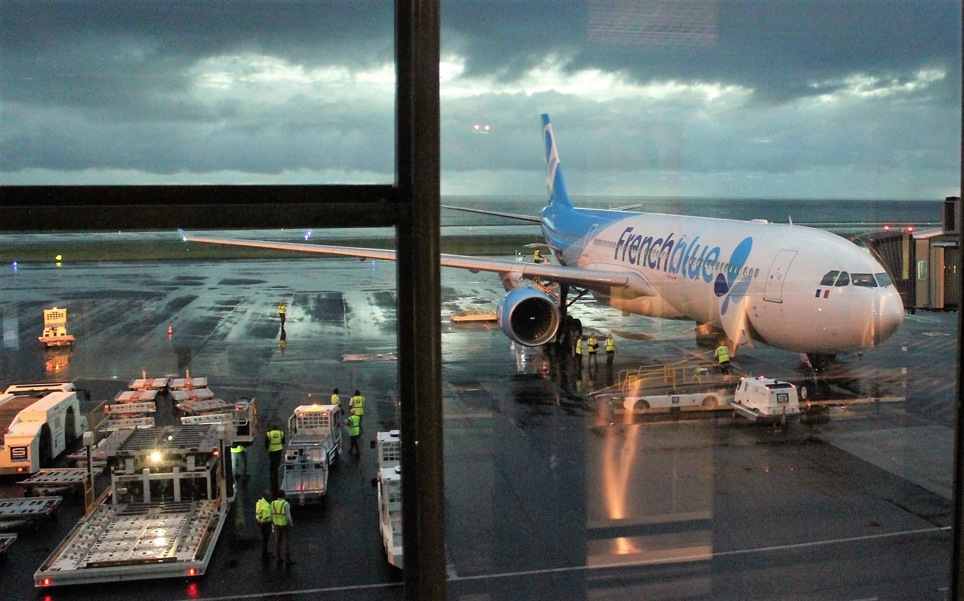 French Blue est arrivé le 17 juin dernier à La Réunion. Un succès pour la compagnie low-cost long courrier ©Outremers360