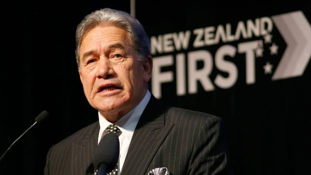 Winston Peters, leader du New-Zealand First ©Phil Walter / Getty Images