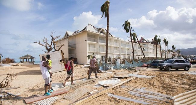 Bien avant Irma, Saint-Martin souffrait déjà de retards structurels et d'inégalités sociales Serge Letchimy, ce lundi 16 octobre, au Ministère des Outre-mer ©AFP
