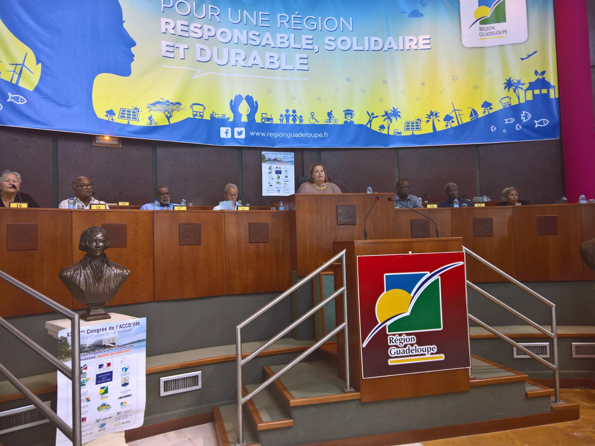 Congrès ACCDOM: Sophie Charles, Présidente de l'ACCD'OM: «Nous devons porter nos problèmes et nos spécificités au plus haut niveau de l'Etat et de Bruxelles »