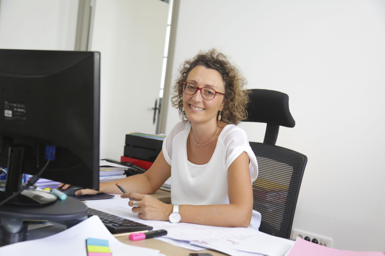 Sabine Rivière, Chargée d'études Logement social, Logement insalubre et Rénovation urbaine ©AGORAH
