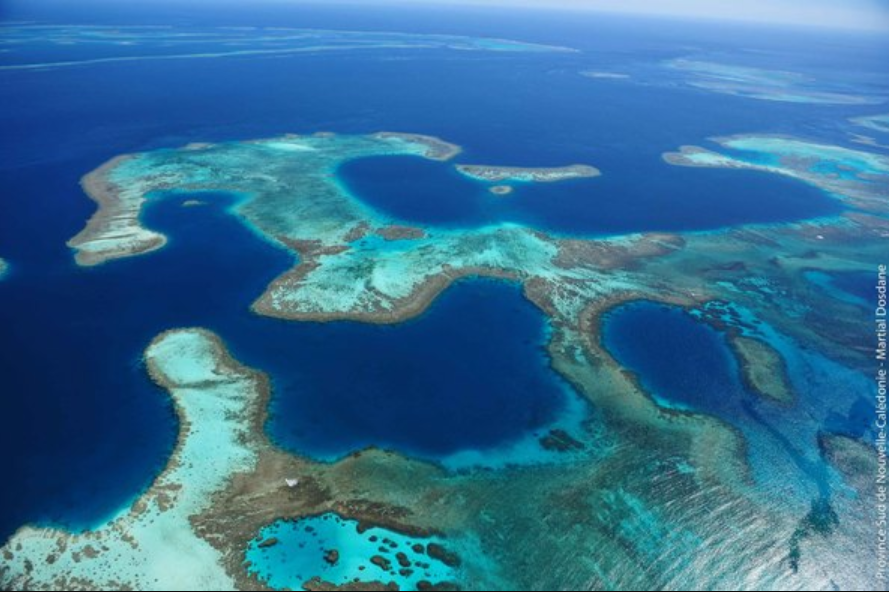 Le Lagon de Nouvelle-Calédonie, classé à l'UNESCO ©Martial Dosdane / Province Sud