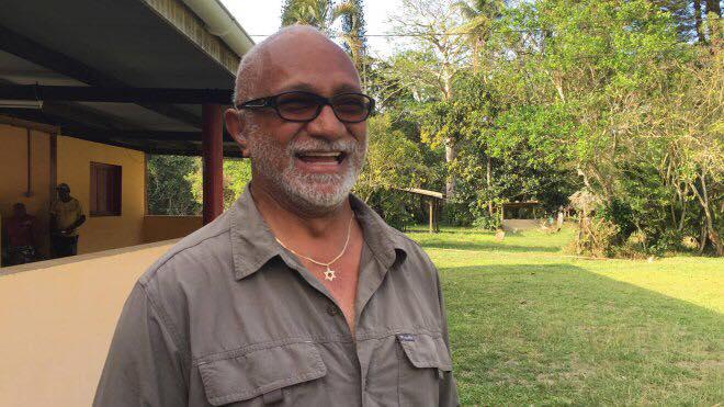André Levy, tête de liste du Soweï-Palika ©La Dépêche de Nouvelle-Calédonie