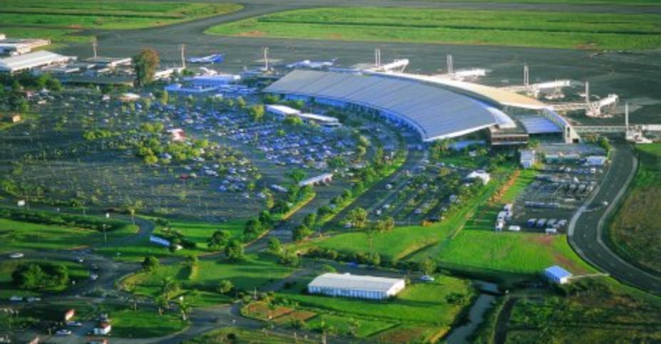 Malgré une baisse de trafic en octobre, la trafic cumulé entre janvier et octobre reste positif ©Aéroport Martinique Aimé Césaire