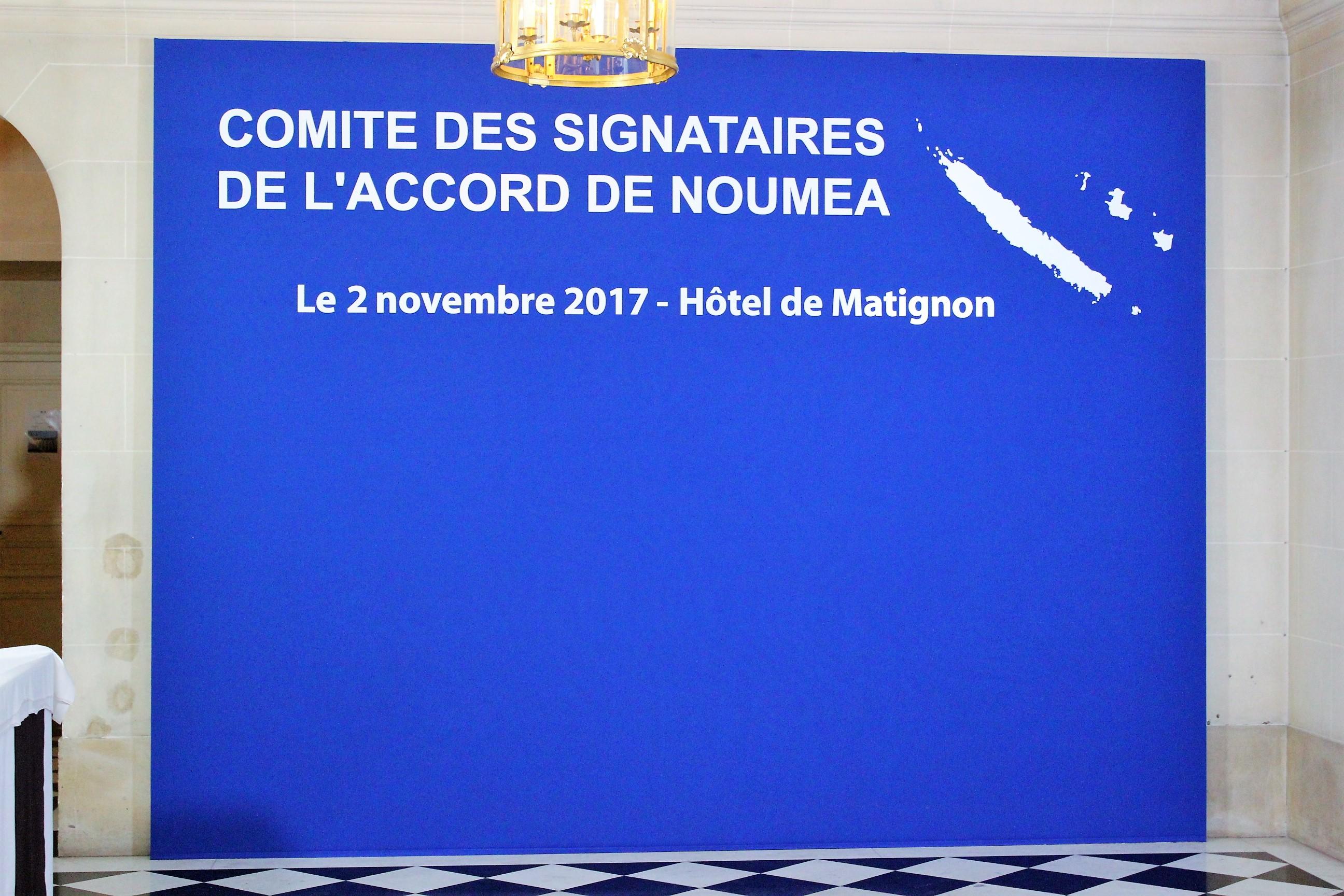 Le dernier Comité des Signataires a eu lieu le 2 novembre dernier, avec comme point principal, l'inscription automatique des natifs calédoniens sur la liste électorale spéciale ©Outremers360