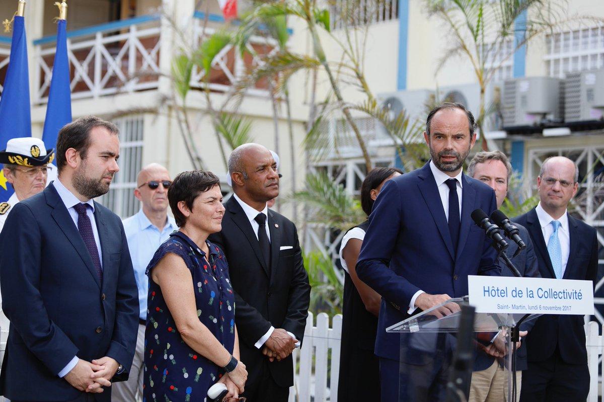 Edouard Philippe aux Antilles: Le Premier Ministre favorable à un moratoire sur les charges sociales patronales à Saint-Martin et Saint-Barthélemy