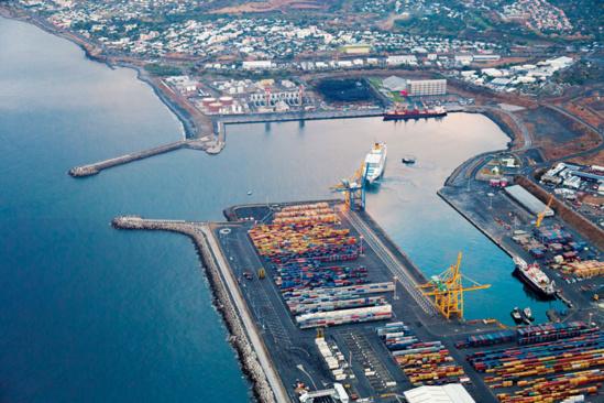 L'actuel port de La Réunion ©DR