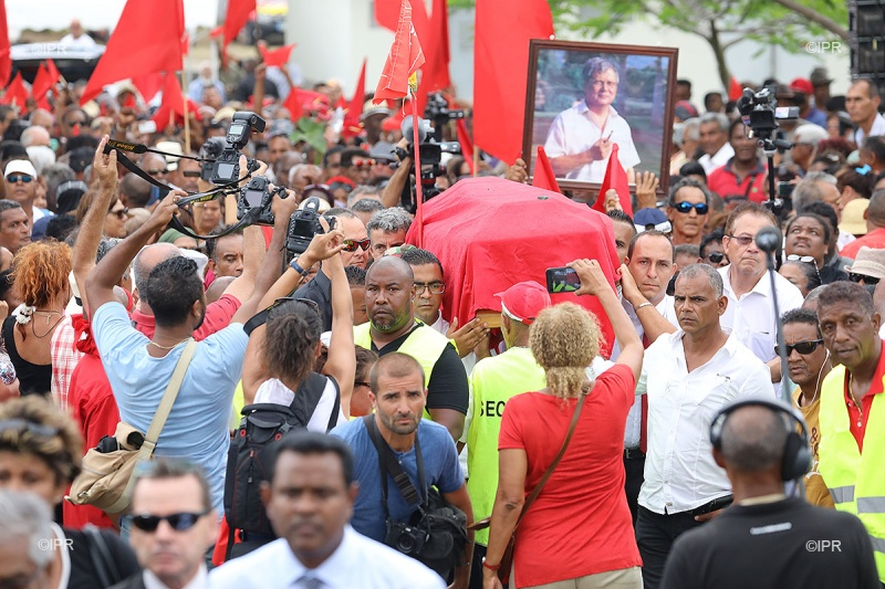Le décès de Paul Vergès fut un moment de grande émotion à La Réunion ©Archives / IPR