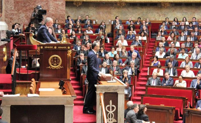 Edouard Philippe lors du discours de politique générale, le 4 juillet dernier ©Outremers360