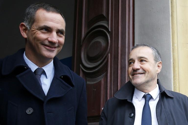 Gilles Simeoni et Jean-Guy Talamoni ©Pascal Pochard-Casabianca / AFP