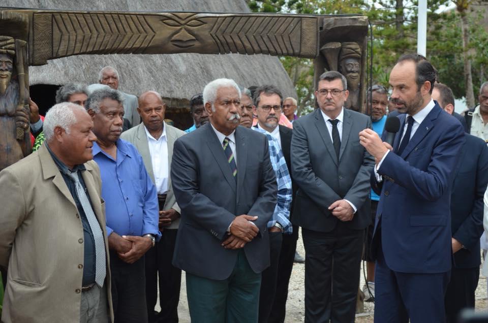 Le Premier Ministre a rencontré les membres du Sénat Coutumier ©Philippe Germain