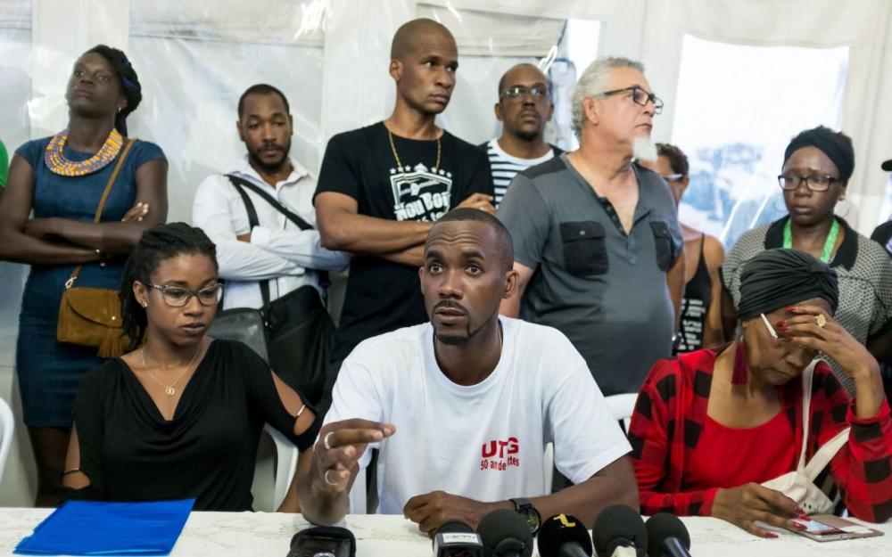 Davy Rimane, ancien adversaire de Lénaïck Adam aux Législatives et figure des mouvements sociaux en Guyane, avait déposé un recours le 28 juin dernier ©AFP