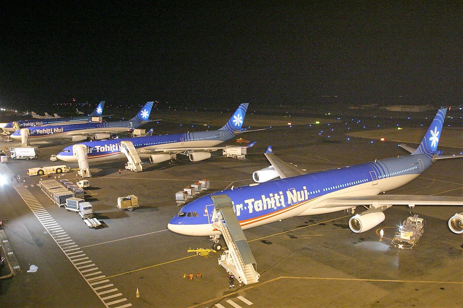 Avec l'arrivée annoncée de deux compagnies sur l'axe Papeete-Paris, Air Tahiti Nui a lancé une baisse des prix ©Air Tahiti Nui
