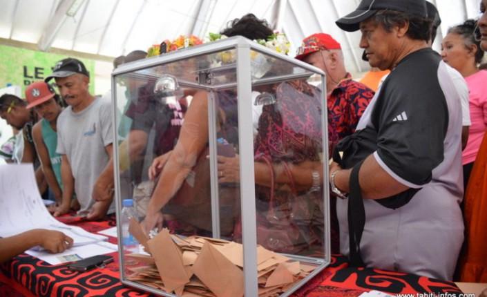 En mai 2018, les électeurs Polynésiens vont renouveler leur assemblée territoriale ©Tahiti-Infos