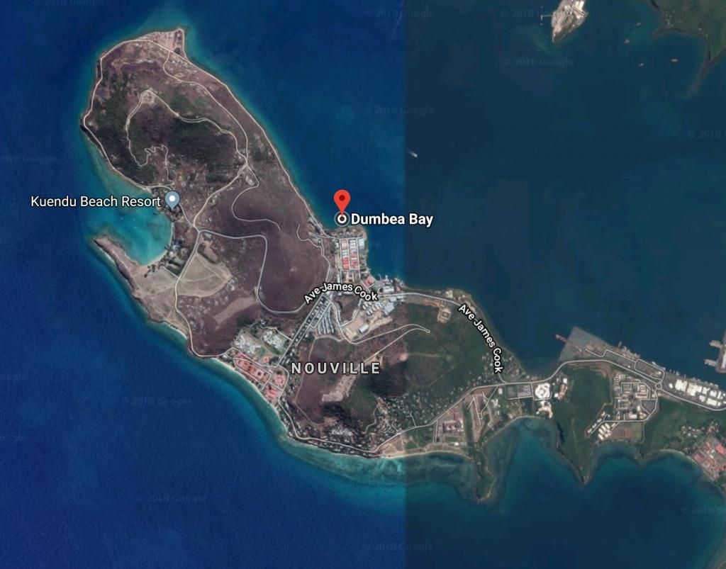 Selon les Nouvelles-Calédoniennes, l'attaque s'est produite dans dans la baie dite de l'ETFPA, à Nouville.