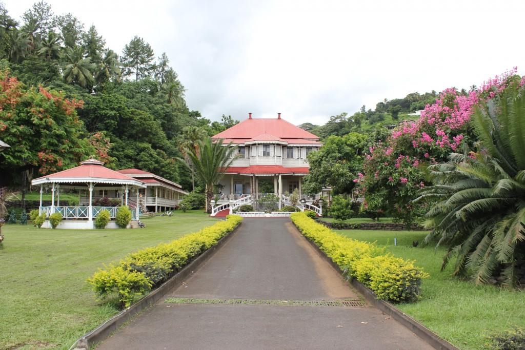 Vue de la Mairie de Arue en Polynésie française ©Outremers360