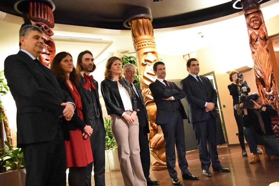 Le 25 janvier dernier, une partie de la mission parlementaire d'information sur l'avenir institutionnel de la Nouvelle-Calédonie s'était rendue à la Maison de la Nouvelle-Calédonie, siège de la représentation calédonienne à Paris ©Outremers360