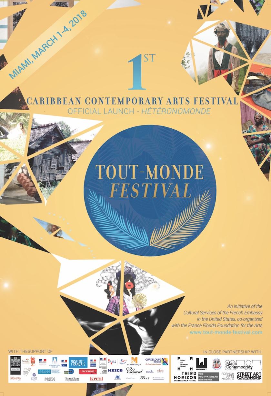 Flyer Tout-Monde Festival