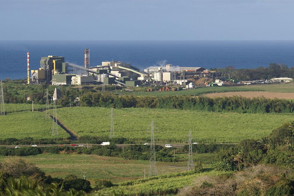 L'usine Albioma de Bois-Rouge à La Réunion ©B Navez / Wiki Commons