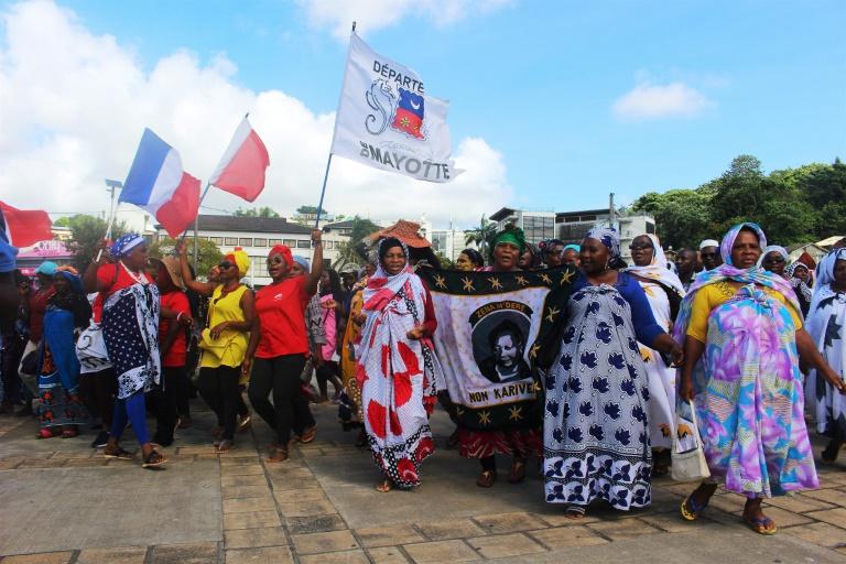 A Mayotte, la grève générale dure depuis le 20 février ©Ornella Lamberti / AFP