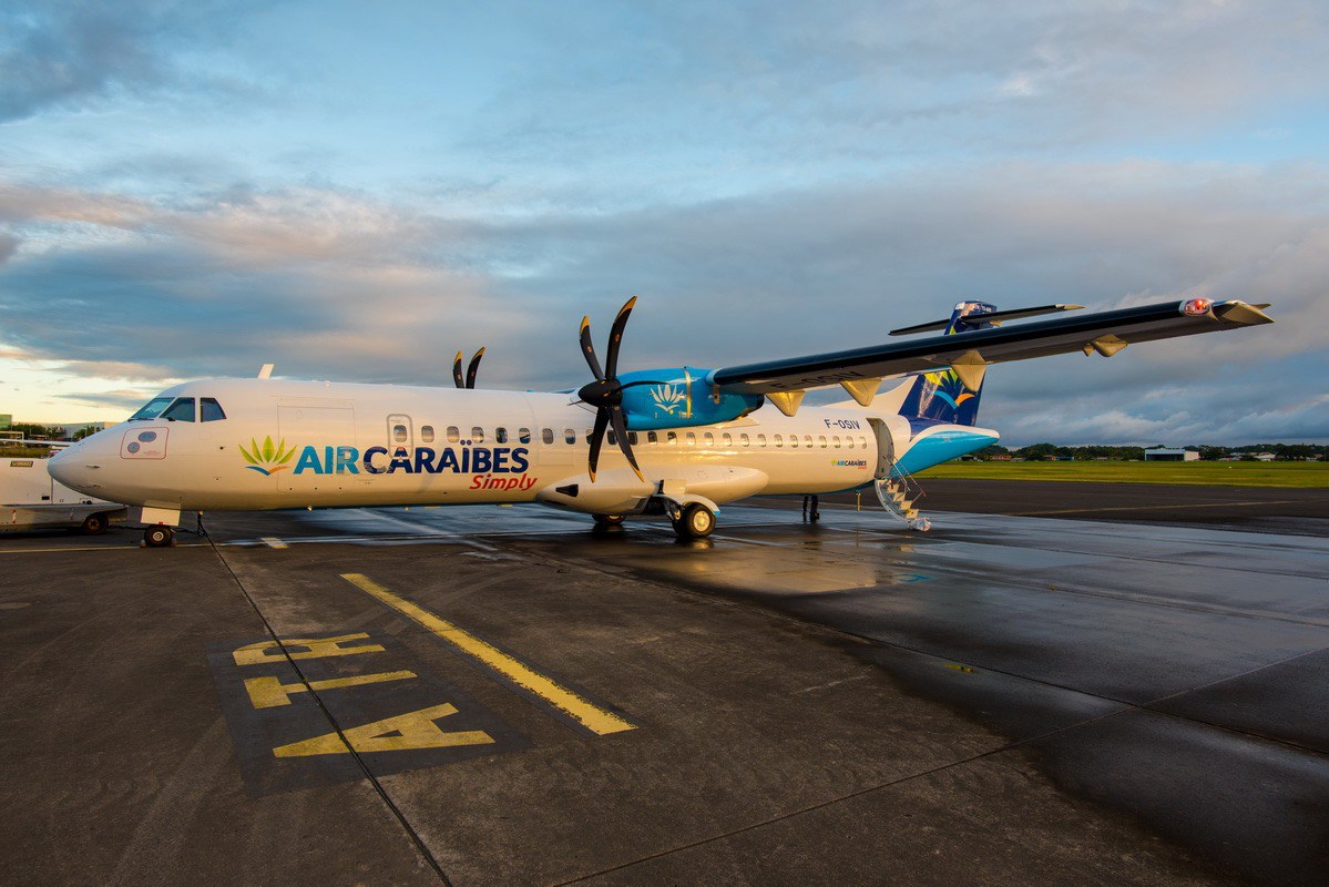 Air Caraïbes a reçu deux nouveaux ATR, dont un en décembre dernier ©L'Aérien