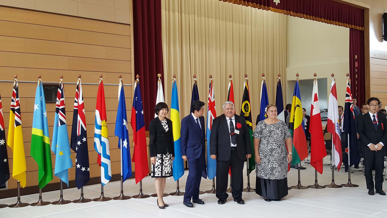 La Polynésie présente au sommet du « Pacific Islands Leaders Meeting» (PALM 8)