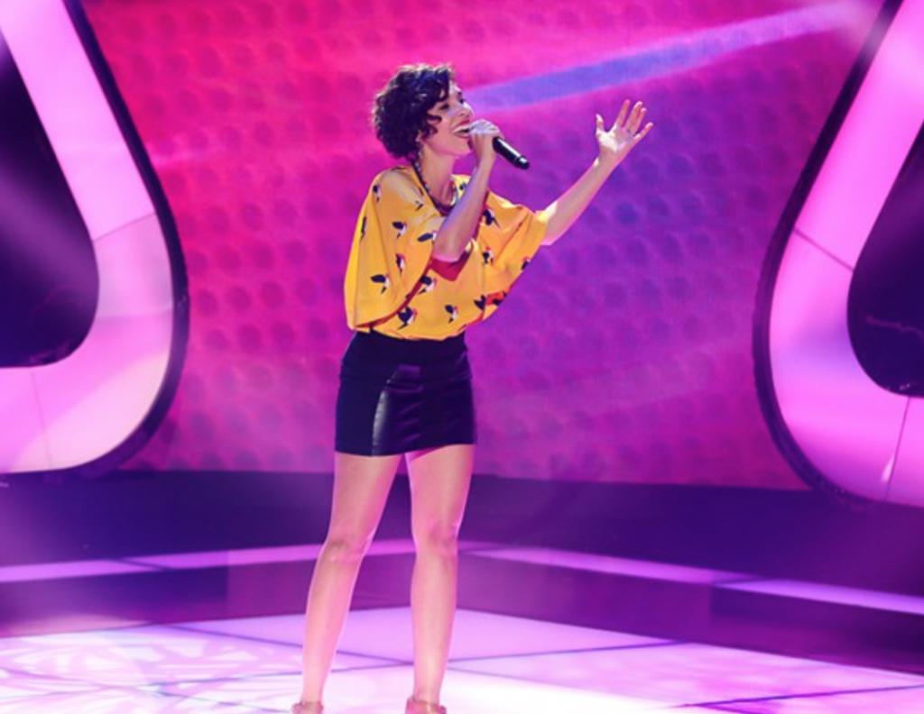 Claire Nativel a participé à The Voice ©Globo TV