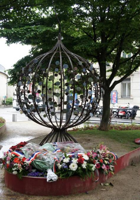 La Stèle aux esclaves à Saint-Denis© DR