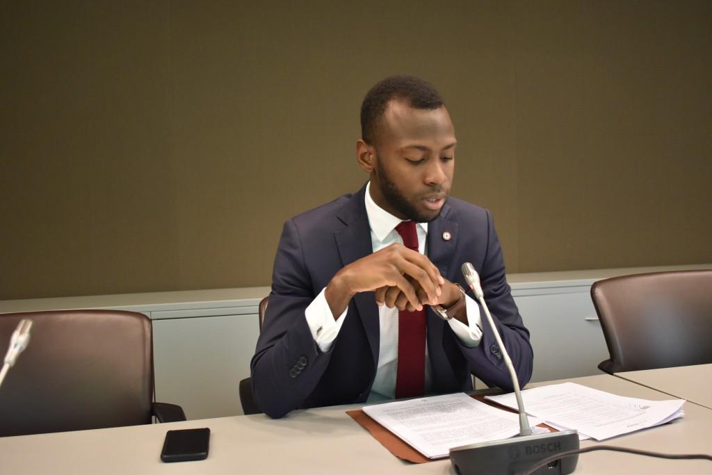 """""""Il faut que les Outre-mer puissent se sentir considérés par la République"""", a déclaré le député de Guyane © Outremers 360"""