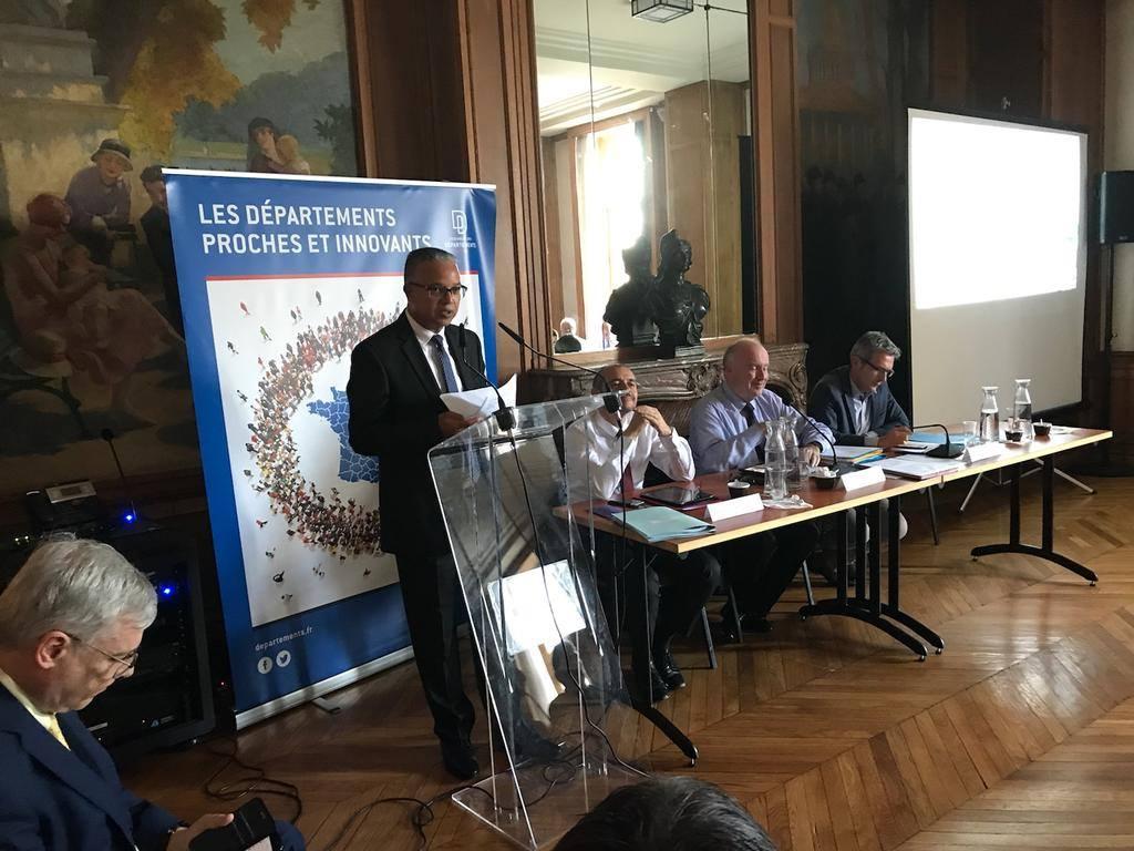 Cyrille Melchior est le nouveau président de la Commission Outre-mer de l'Assemblée des Départements de France
