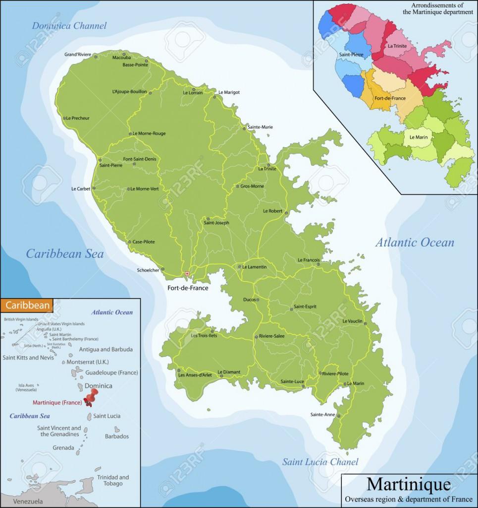 En Martinique, les départs s'effectuent au sud dans une zone comprise entre le Diamant et Sainte-Anne.Au centre de l'île, ils ont lieu depuis la rive droite Levassor ou dans les communes littorales de Schœlcher, Case-Pilote et Bellefontaine. Au nord de l'île, les départs se font du Prêcheur et de Grand-Rivière vers la Dominique ; par le sud les dissidents rejoignent Sainte-Lucie.