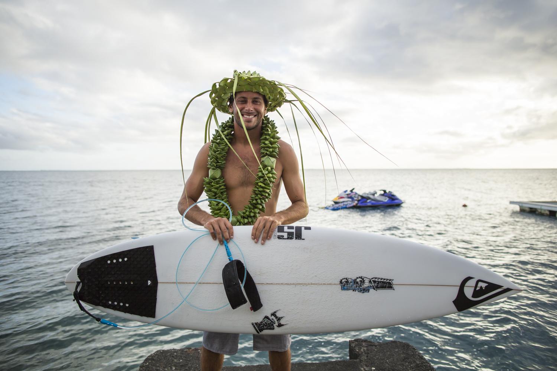 Le Réunionnais Jeremy Flores, vainqueur de l'édition 2016 sera naturellement au rendez-vous ©Ben Thouard