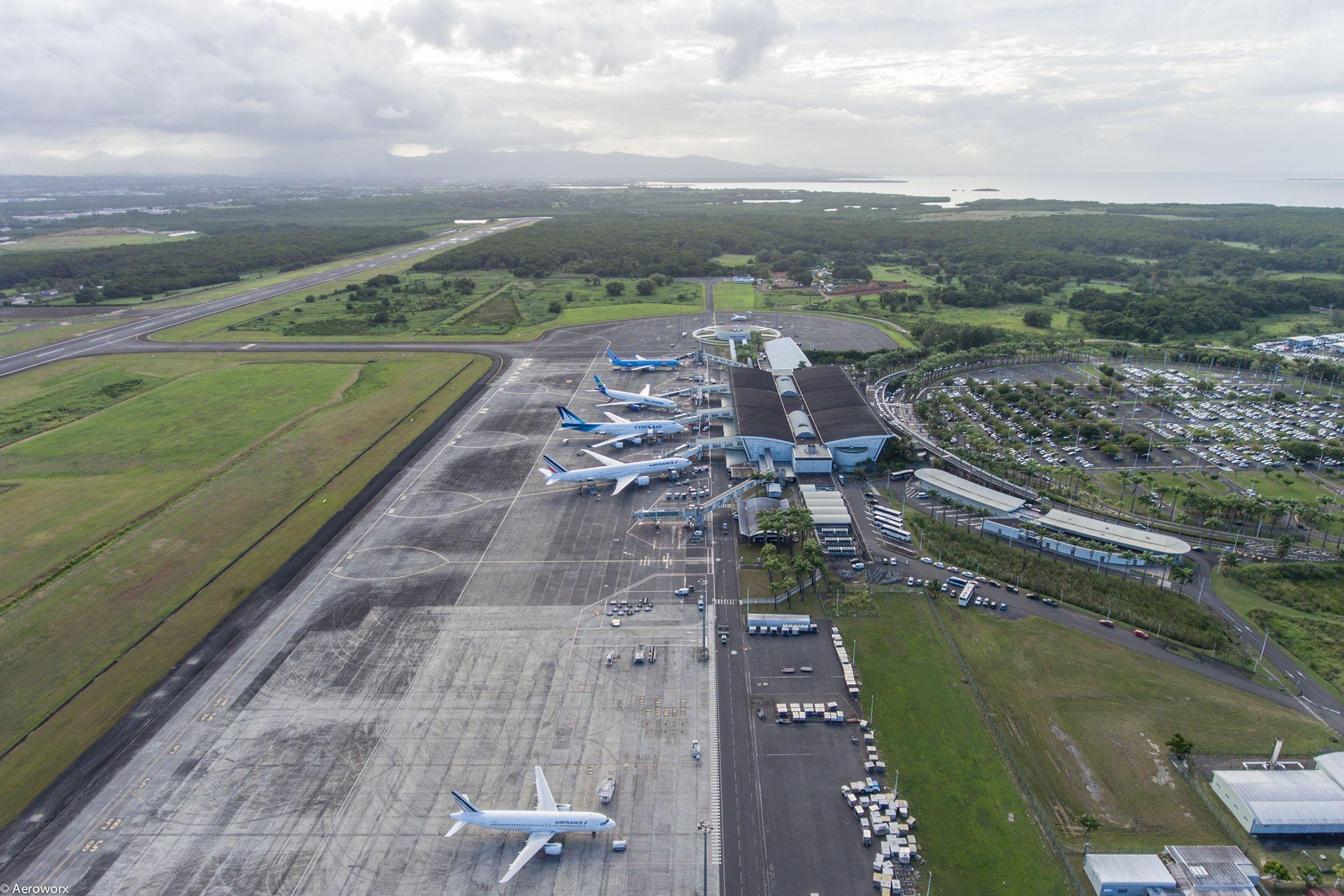 Guadeloupe: Le trafic aérien toujours en baisse, un recul de fréquentation de 45% enregistré en septembre
