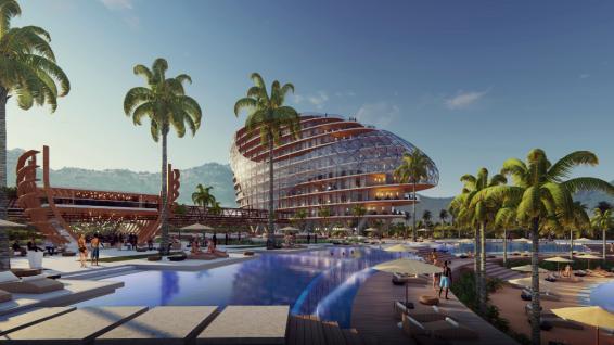 Hôtels, commerces, balades, centre culturel: le Village Tahitien se situera sur la côte Nord-ouest de Tahiti, sur une superficie de plusieurs dizaines de milliers d'hectares ©Kaitiaki Tagaloa