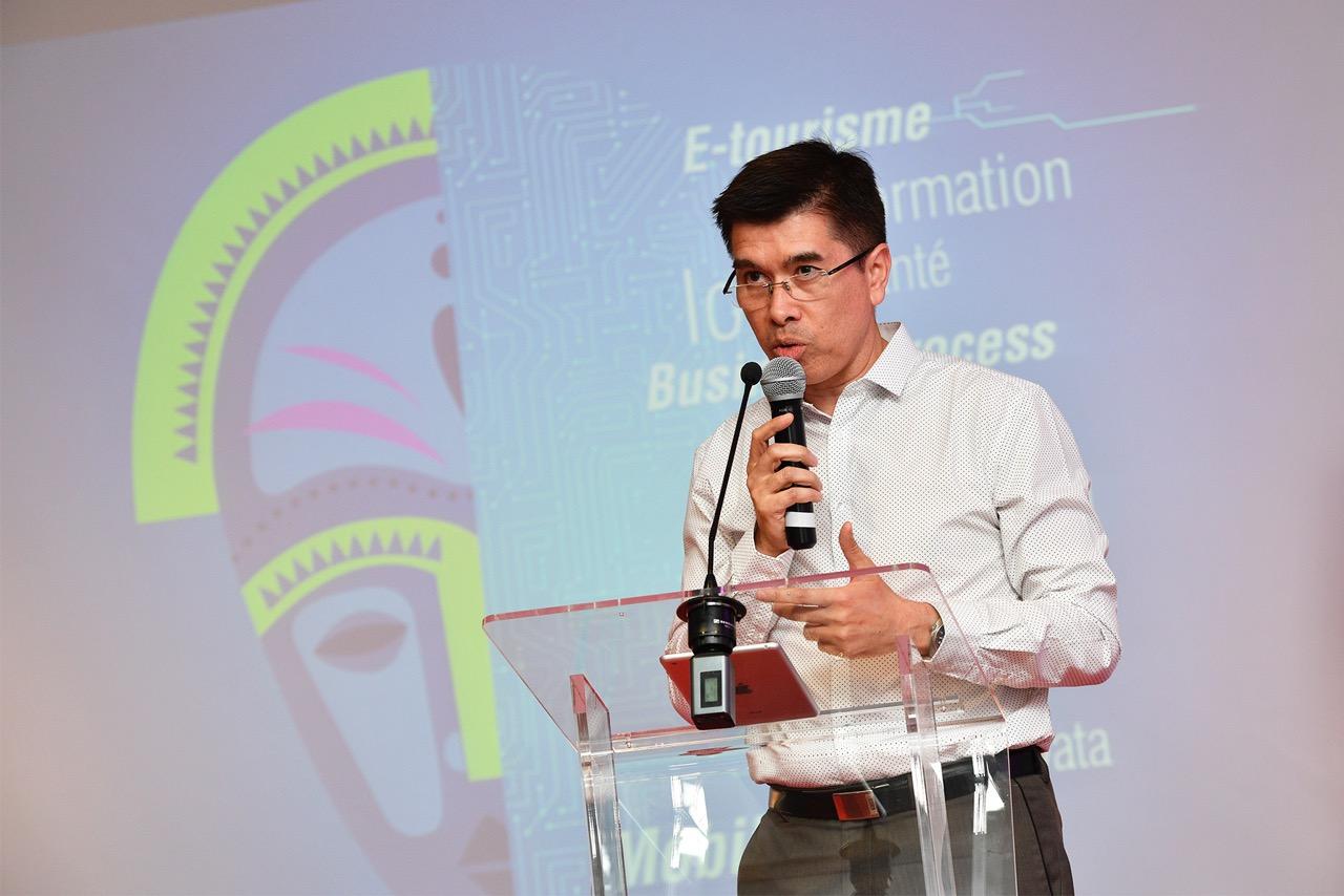 Philippe Arnaud, président de Digital Reunion