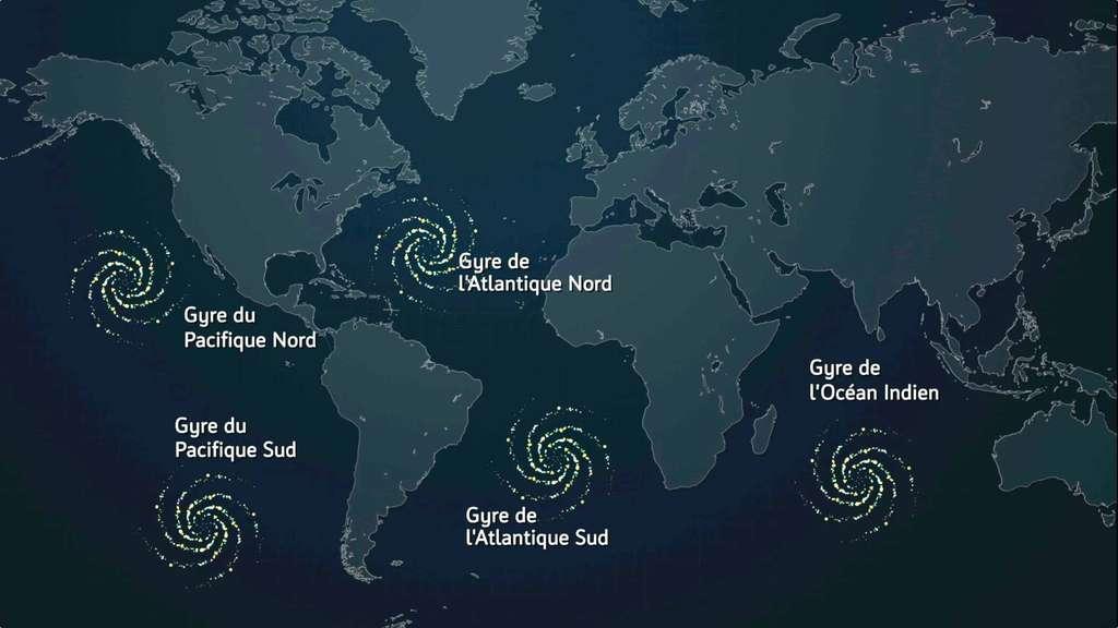 On recense pas moins de 5 continents de plastique répartis dans tous les océans ©Expédition 7ème Continent