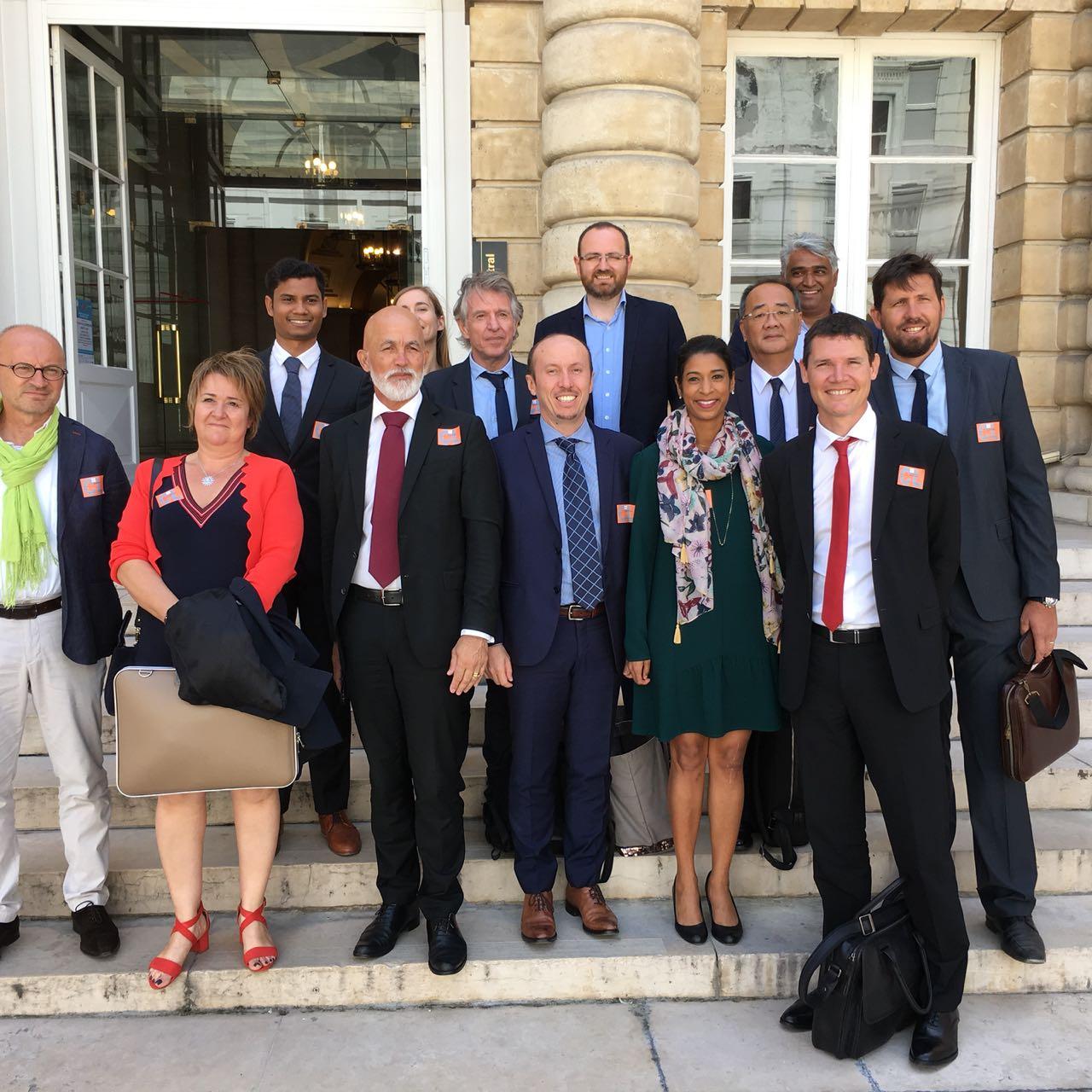 Une délégation de la CPME Réunion a récemment rencontré la ministre des Outre-mer ©CPME Réunion