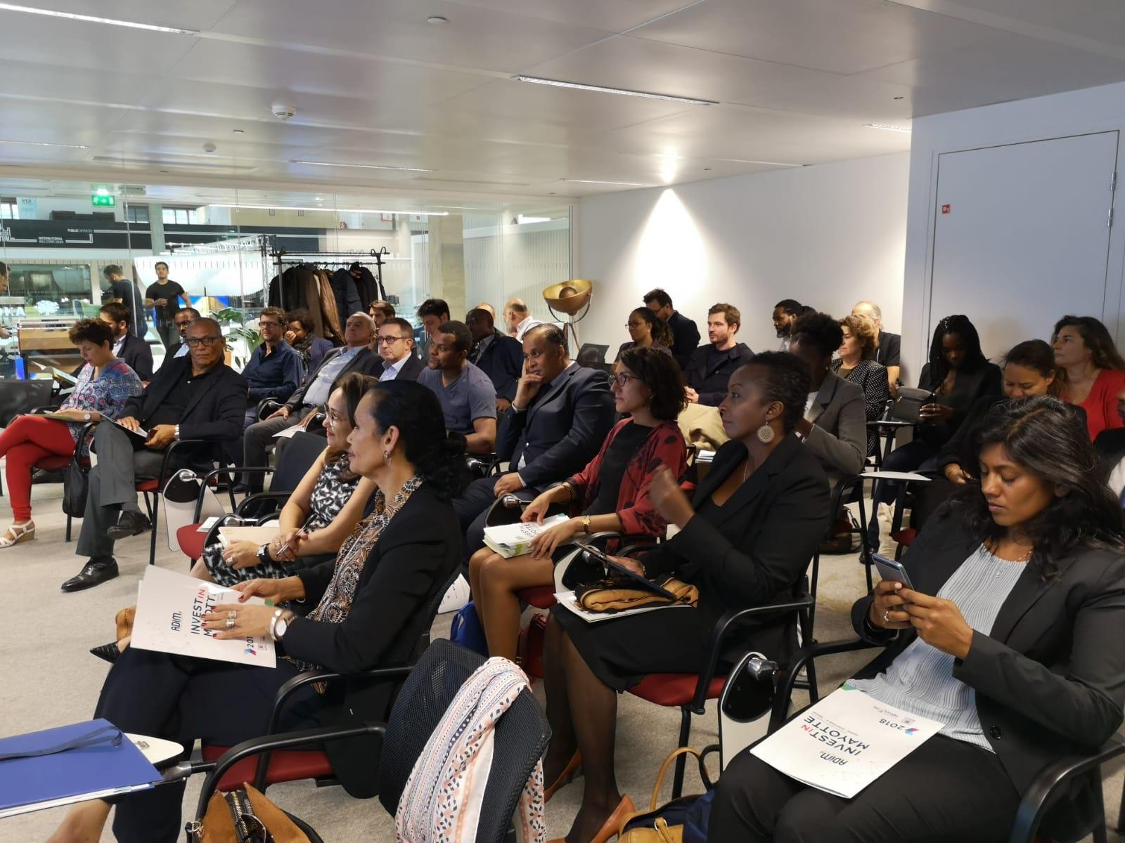 Economie à Mayotte : Invest in Mayotte à Station F à Paris ou l'opération séduction pour attirer de nouveaux investisseurs à Mayotte