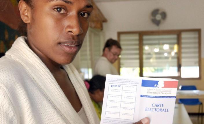 L'abstention chez les jeunes Kanak est un éléments à prendre en compte pour le référendum du 4 novembre ©Marc Le Chelard / AFP