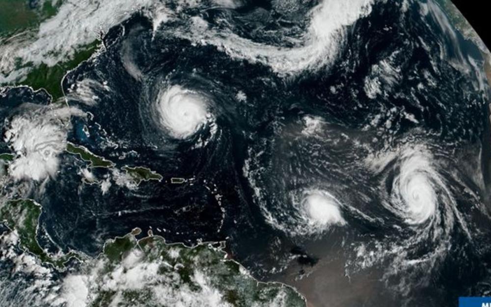 La Guadeloupe et la Martinique en vigilance orange à l'approche de la tempête tropicale Isaac