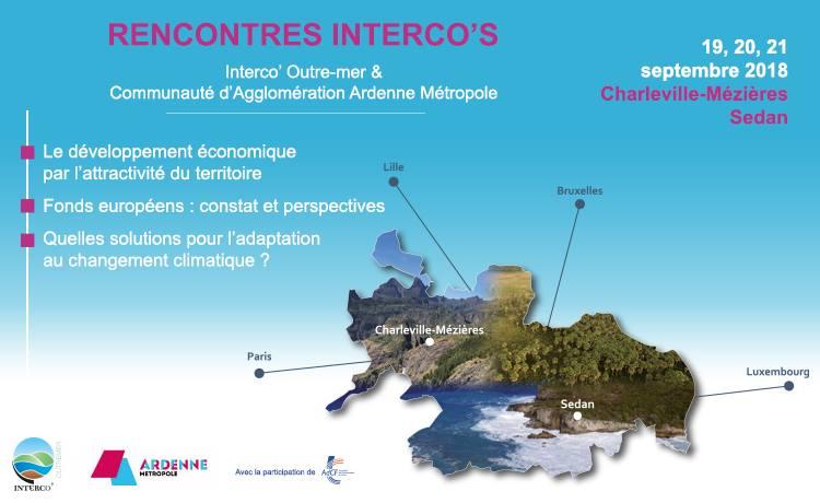Le développement économique, les fonds européens et le changement climatique au coeur de la prochaine rencontre de l'Interco' Outre-mer
