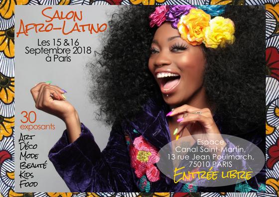 Le 1er Salon des créateurs afro-latino à Paris ce week-end